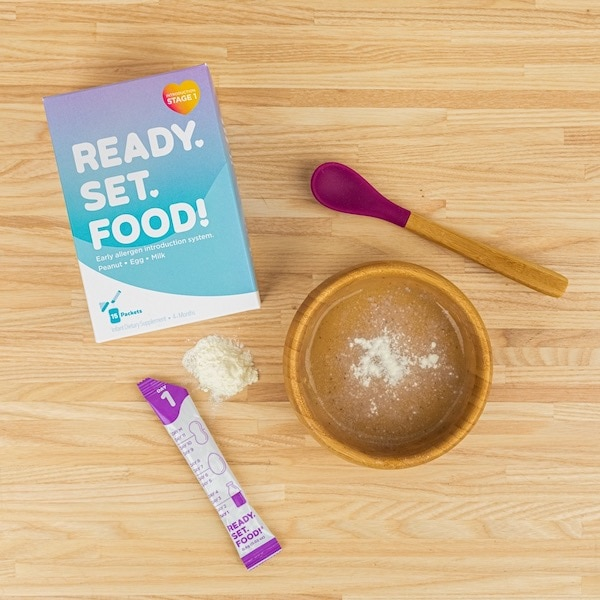 ready set food food allergies for babies