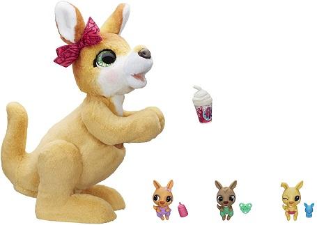 hot toys 2020 stuffed kangaroo and smaller baby kangaroos
