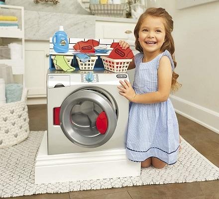 hot toys 2020 girl using fake washer