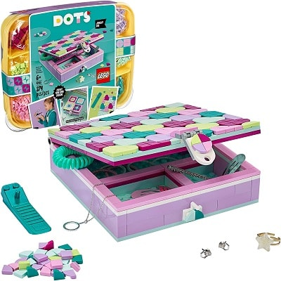 hot toys 2020 lego dots jewelry case