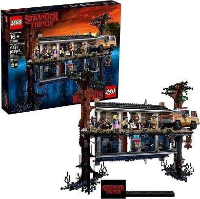 hot toys 2020 lego stranger things upside down set