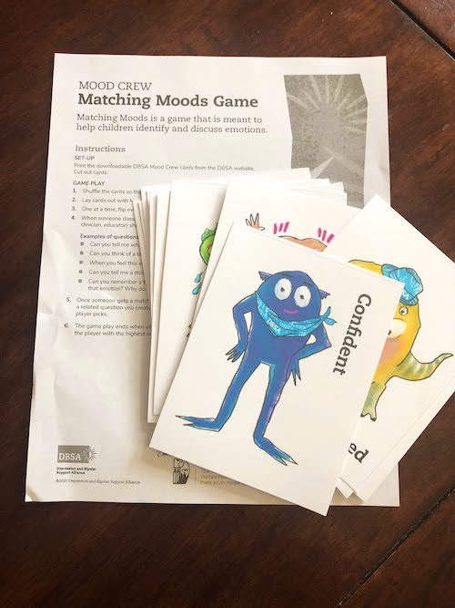 dsba mood crew matching moods game cards stress during covid