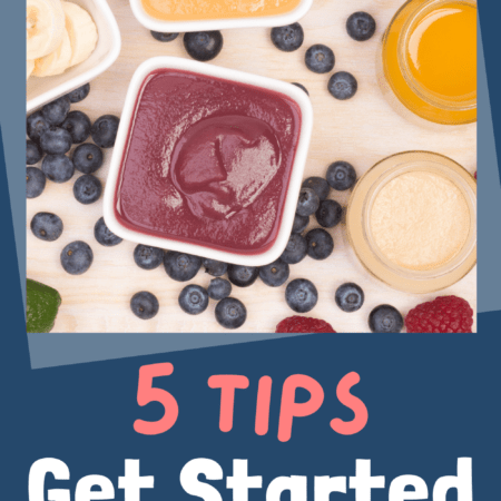 5 Tips to Begin with Baby Food