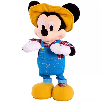 hot toys 2020 plush farmer mickey mouse
