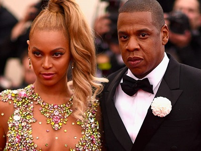 celebrities with twins Beyonce and Jay Z
