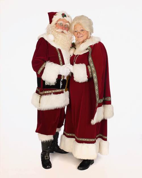 virtual santa visit santa claus and mrs. claus