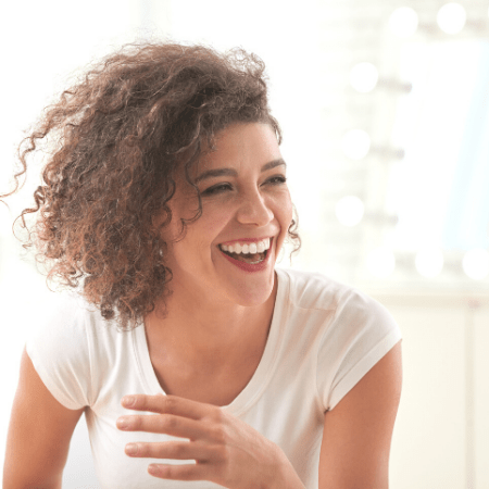 highlights of 2020 a woman laughing