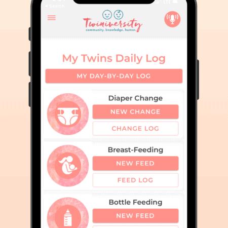 twin tracker app