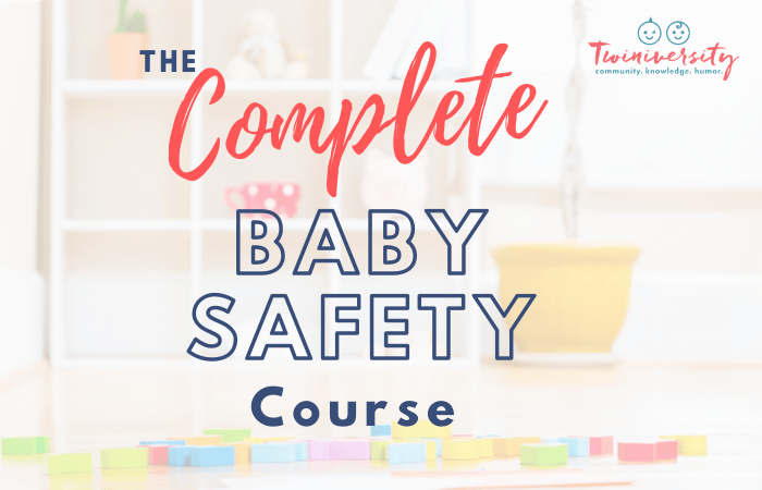 The Complete Baby Safety Course is Live!