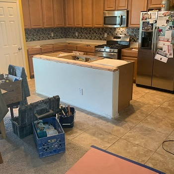 highlights of 2020 a kitchen with no counters