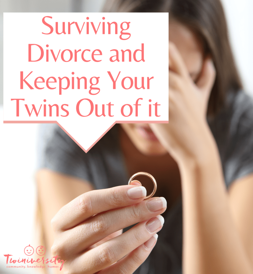 Divorce with twins