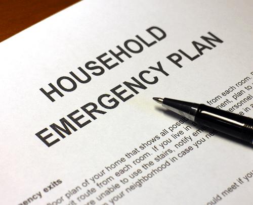 surviving divorce written emergency safety plan