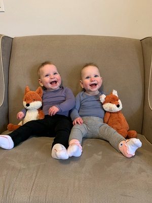 6-Month-Old Identical Twins Whose Mom is an Identical Twin | Twins Tale Podcast