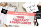 Digital Twin Pregnancy Announcment Ideas