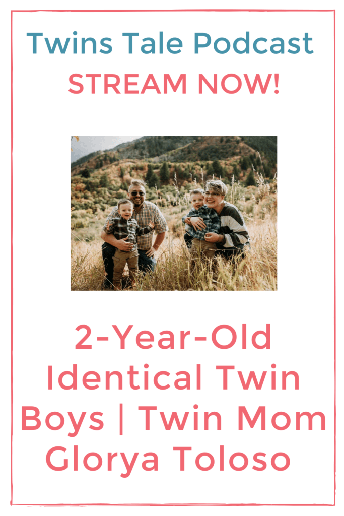 2-year-old identical twin boys twins tale pin