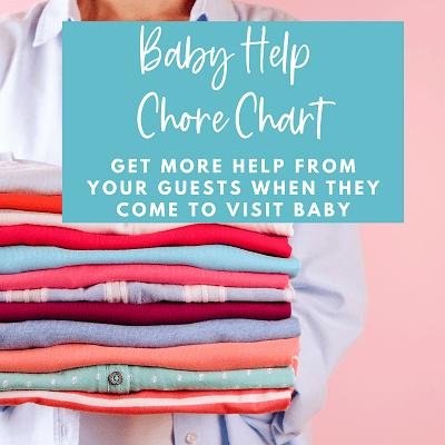 baby help chore chart graphic