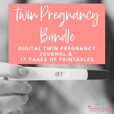 twin pregnancy bundle graphic