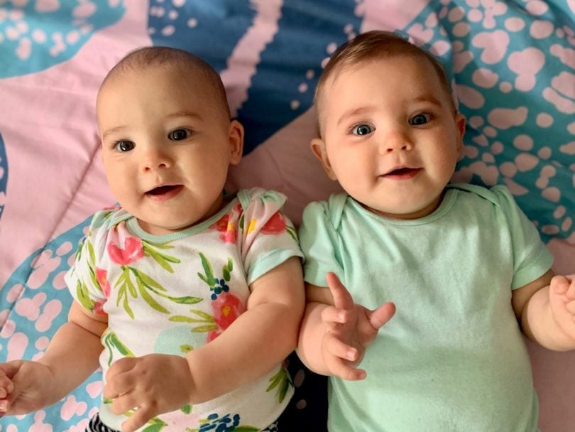 7-Month-Old Twin Girls |  Twins Tale Podcast With Twin Mom Lucy Graham