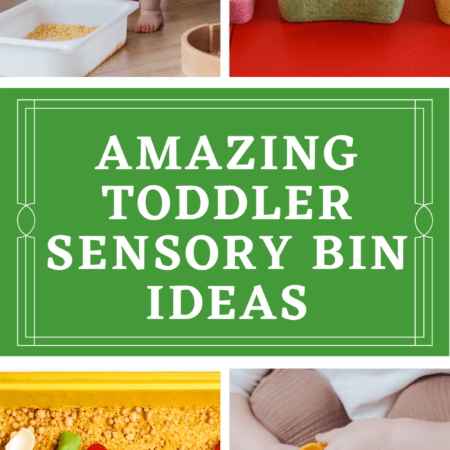 Sensory Bins For Toddlers: Where to Begin