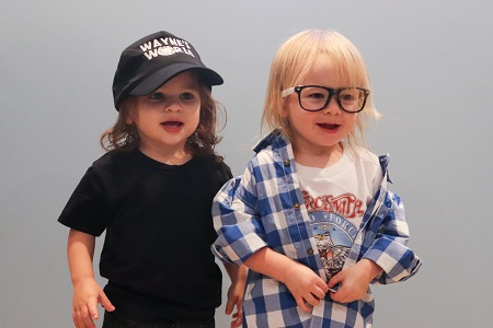 2.5-year-old twins