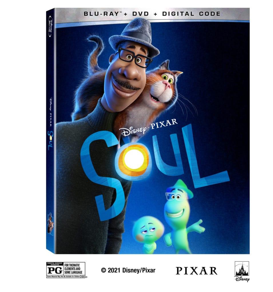 disney pixar soul on dvd