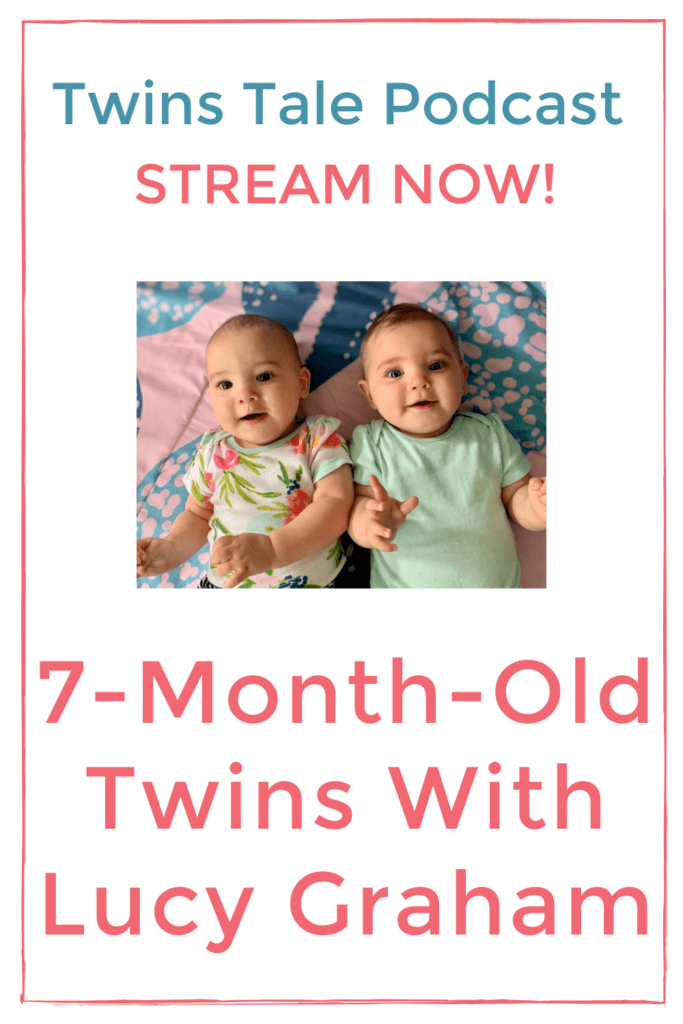 7-month-old twin girls pin