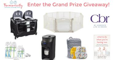 twiniversity grand prize giveaway