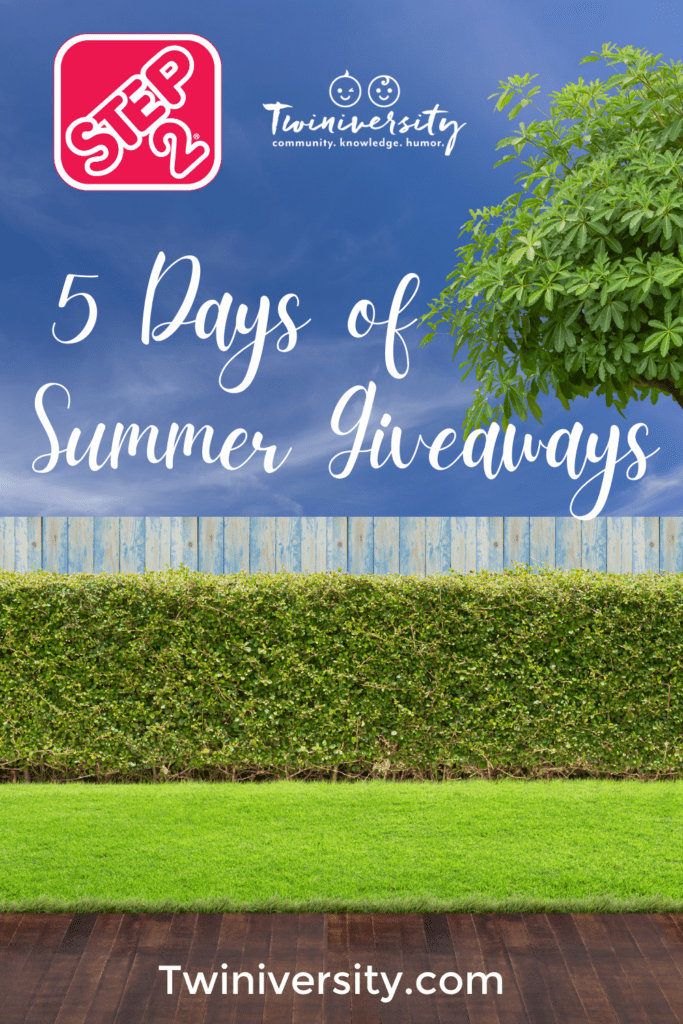 5 Days of Step2 Summer Giveaways + Enter the GRAND PRIZE!