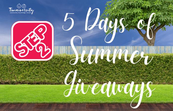 Step2 5 Days of Summer Giveaways