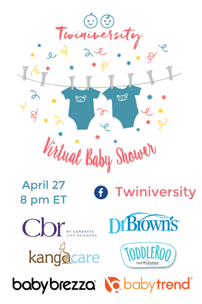 You're Invited! Virtual Baby Shower Apr 27 @ 8 pm ET