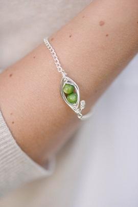 2 peas in a pod bracelet