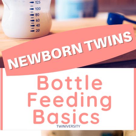 Bottle Feeding Basics for Newborn Twins