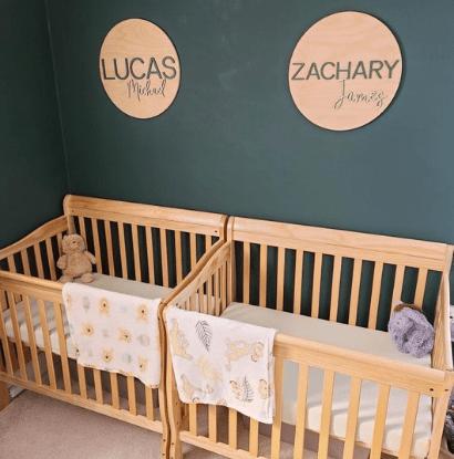 twin cribs