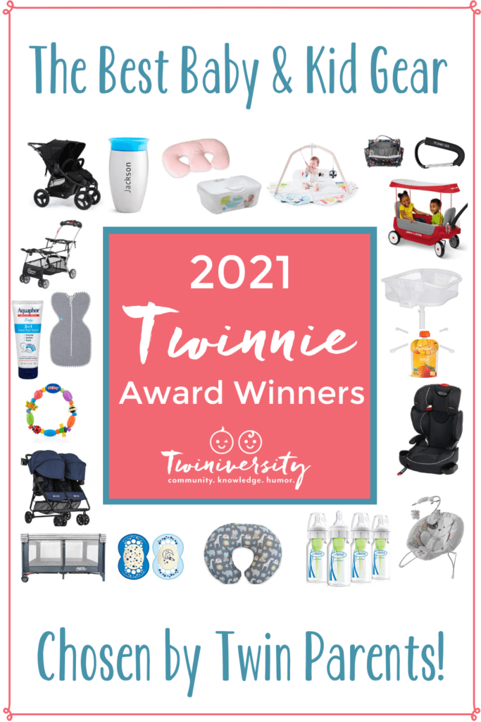 2021 Twinnie Award Winners – Best Baby Gear for Twins