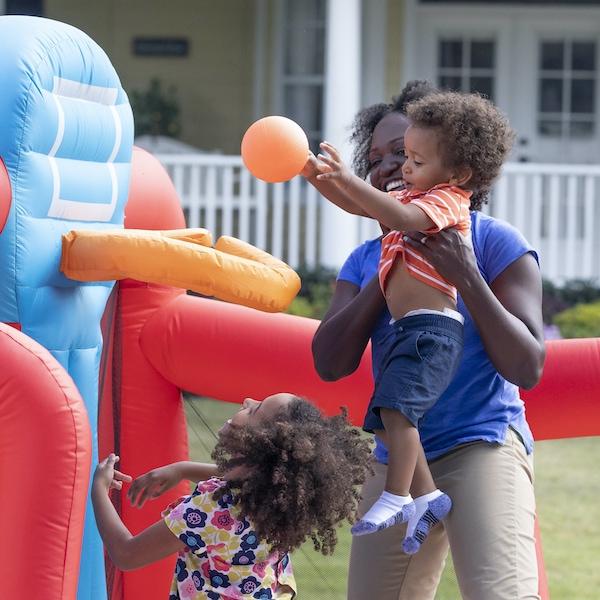 step2 b-ball inflatable bounce house