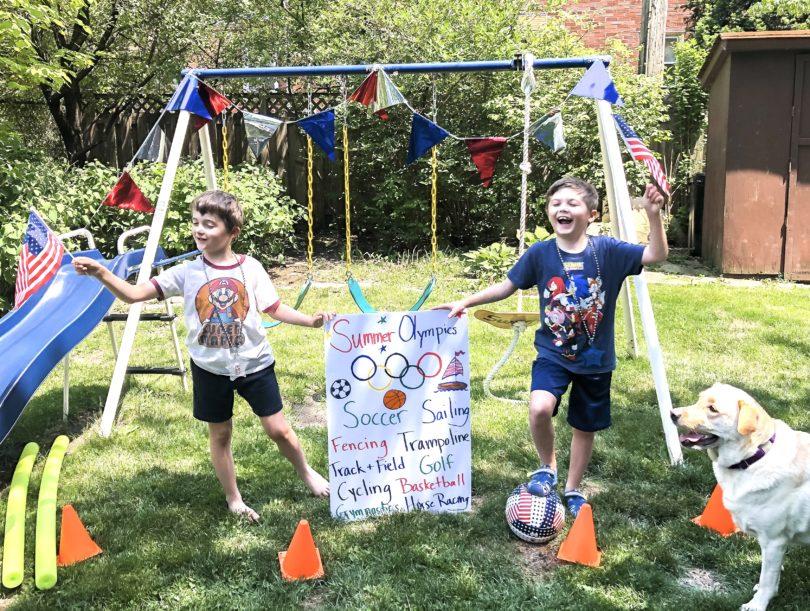 backyard olympic games