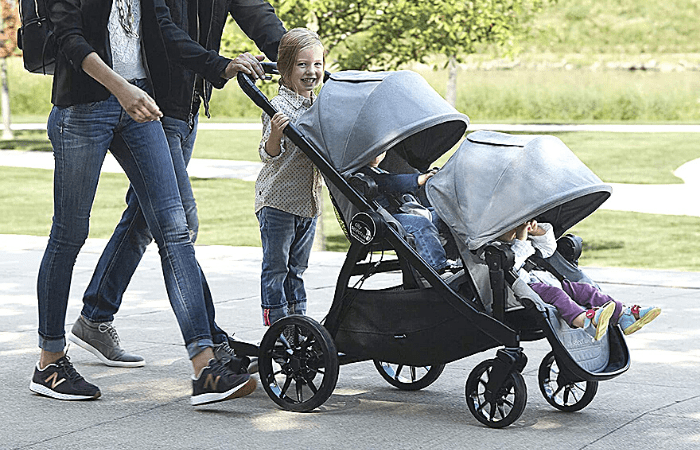 baby jogger city select stroller with the 2nd seat tandem or side by side