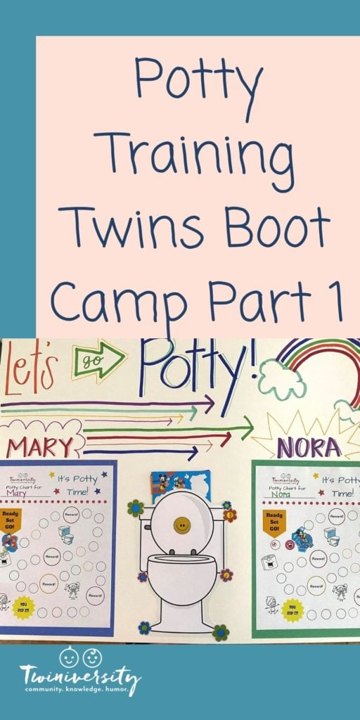 Potty Training Twins Boot Camp: Part 1, Preparation