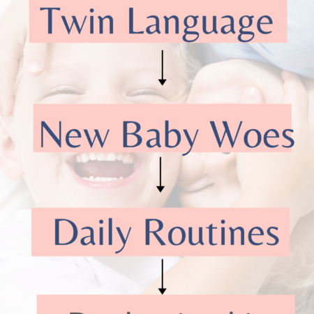 Twin Language and Resenting the New Baby