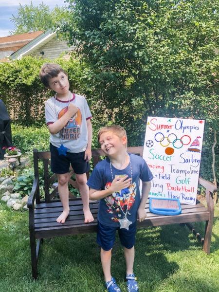 backyard olympic games closing ceremony