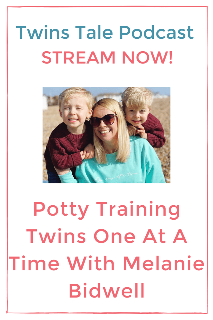 potty training twins one at a time pin