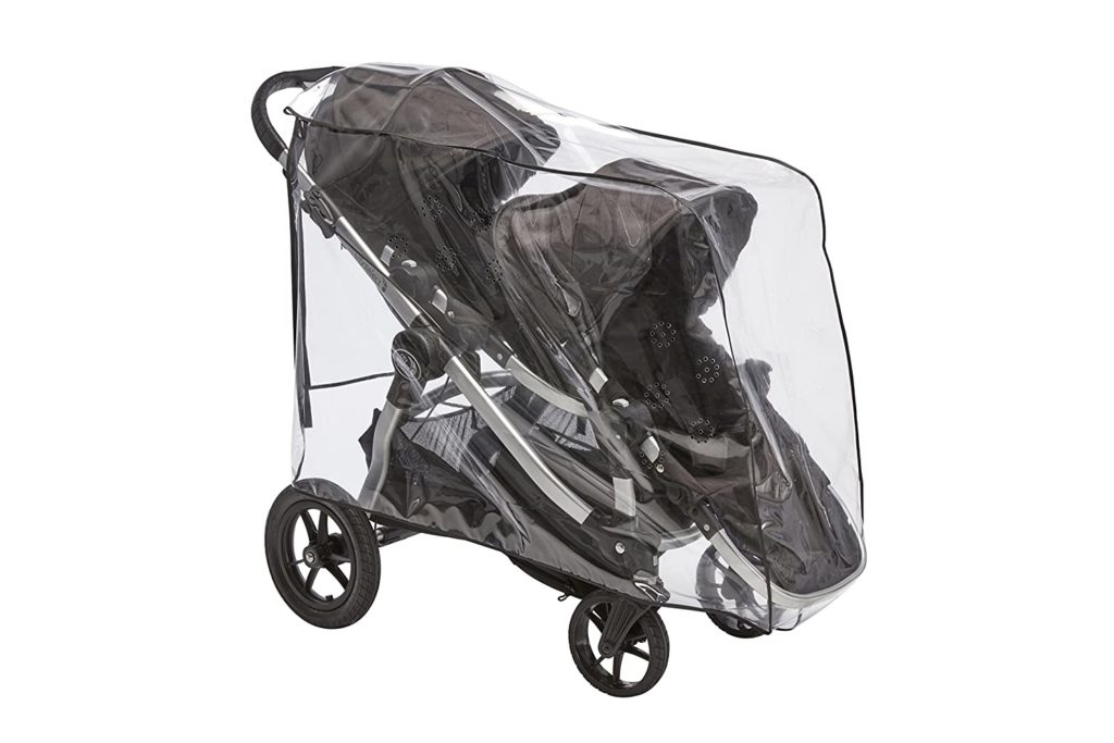 clear baby jogger rain and wind cover