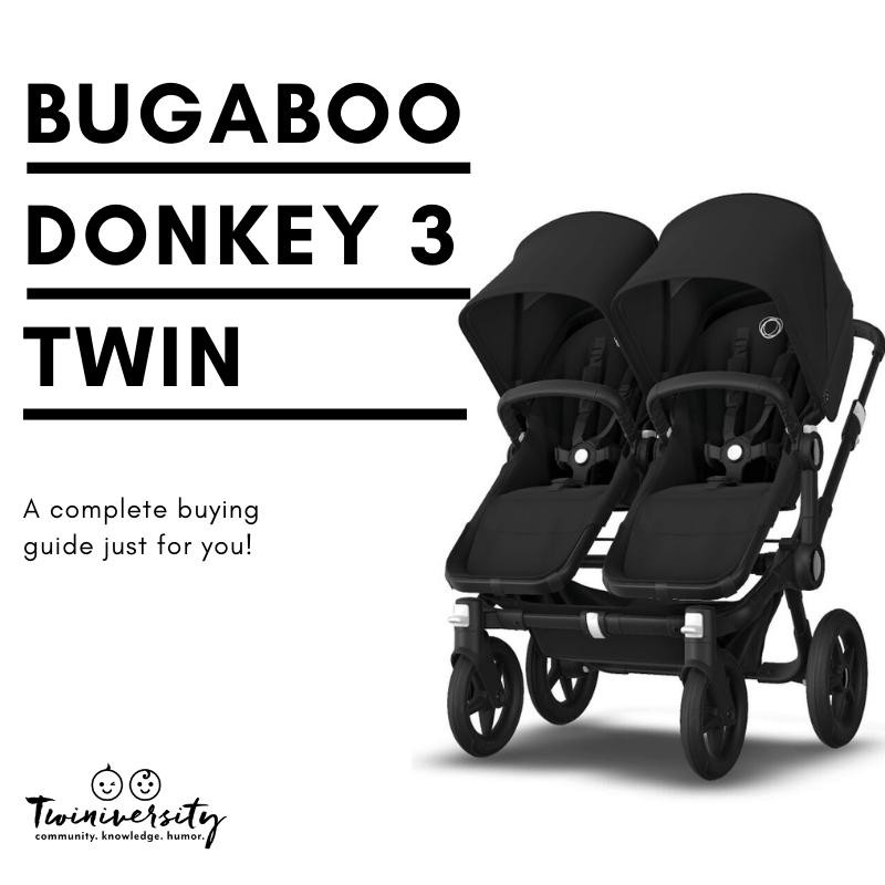 Bugaboo Donkey 3 Twin  Side By Side Stroller