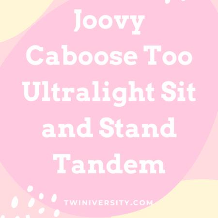 Joovy Caboose Ultralight Too