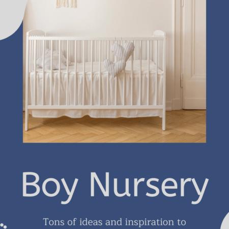 Baby Boy Nursery Ideas: New and Fresh Design Inspiration