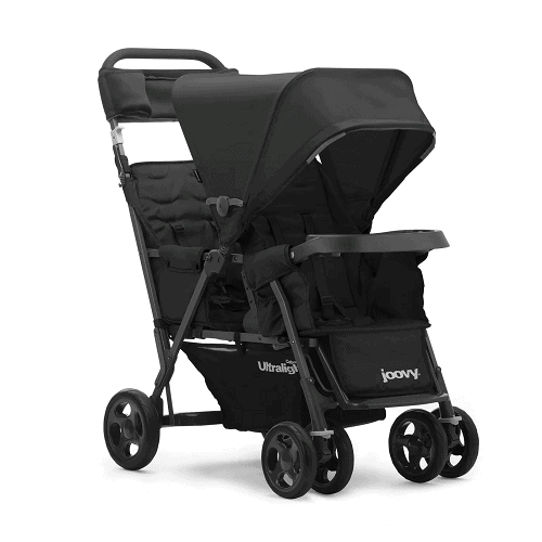 Joovy Caboose Ultralight Too stroller in black
