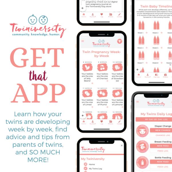 twins tracker app