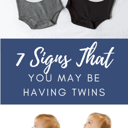 signs of twin pregnancy