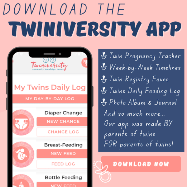 twiniversity app for twin pregnancy and raising twins
