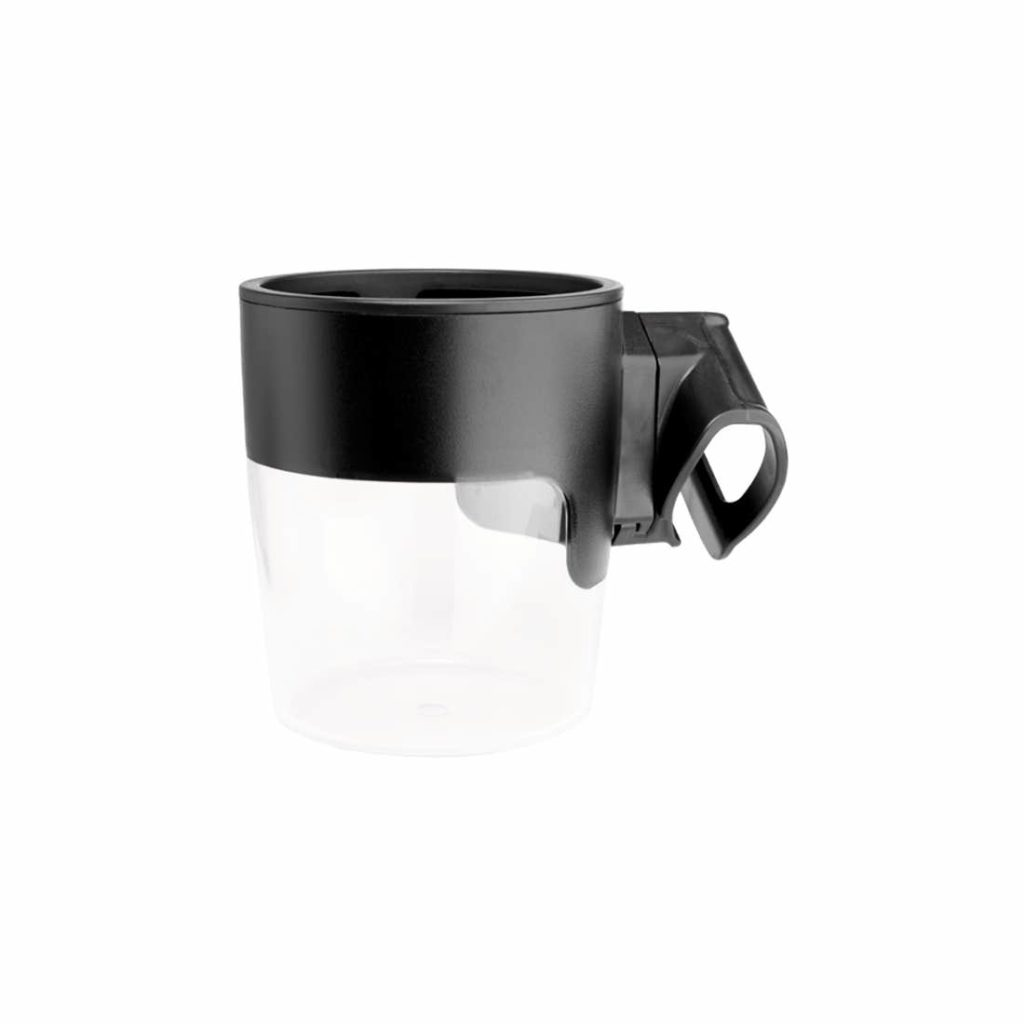 black attachable cup holder